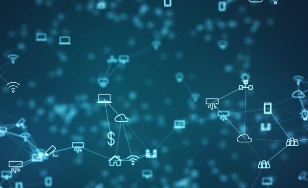"""Das Internet der Dinge (engl. """"Internet of Things"""", IoT) beschreibt die digitale Vernetzung und Kommunikation von diversen Endgeräten miteinander."""