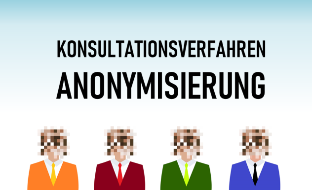 Bundesbeauftragter für Datenschutz führt Konsultationsverfahren zu Anonymisierung durch