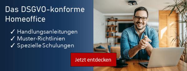 Datenschutz Management Spezial: Homeoffice