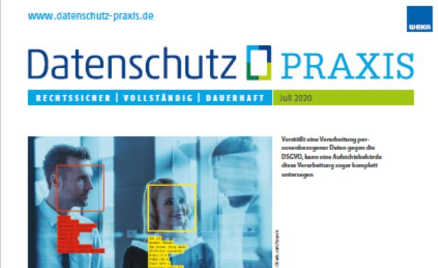 Datenschutz PRAXIS Juli 20202