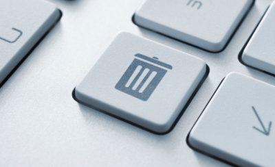 Das Löschen ist ein wichtiger bestandteil des Datenschutzes