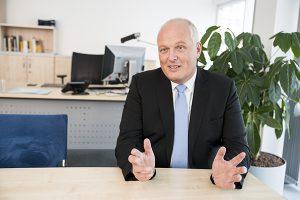 Ulrich Kelber, Bundesbeauftragter für den Datenschutz und die Informationsfreiheit, in seinem Berliner Amtssitz.