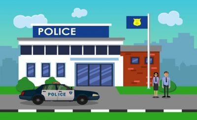 Heimliche Filmaufnahmen in der Polizeistation